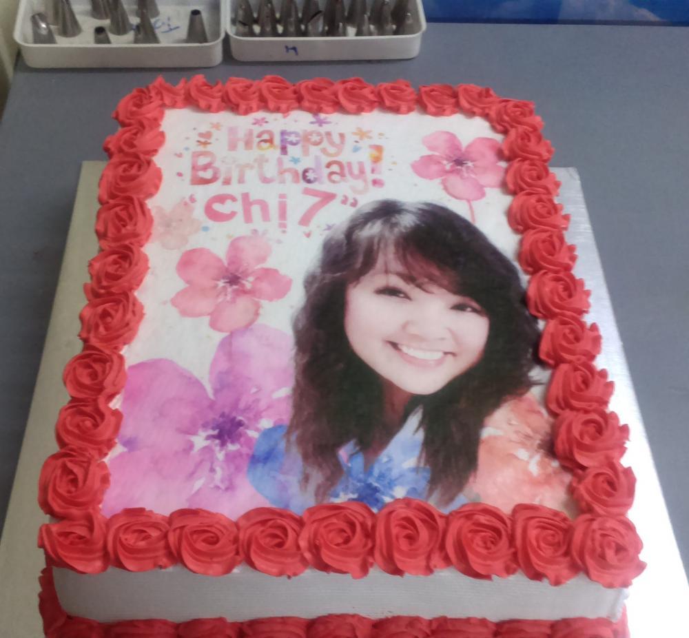 bánh sinh nhật in hình đẹp