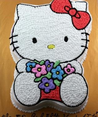 Bánh mèo Kitty mã B069