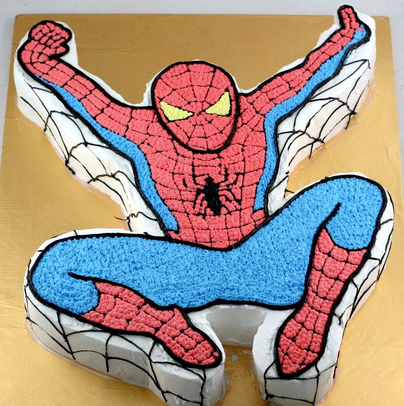 Bánh người nhện Spider Man mã B2704