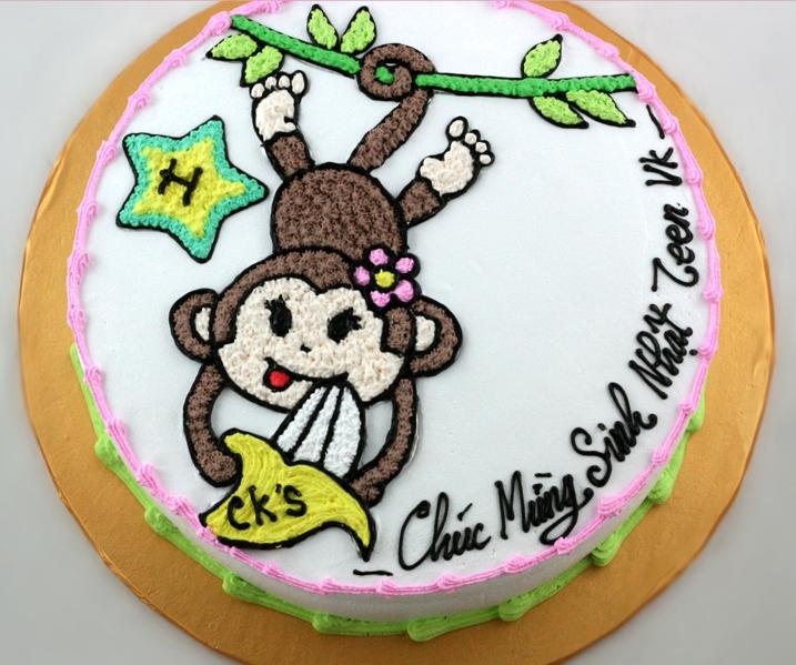 Bánh khỉ đu cây mã B1949