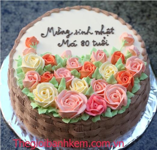 Bánh sinh nhật Mã B5456