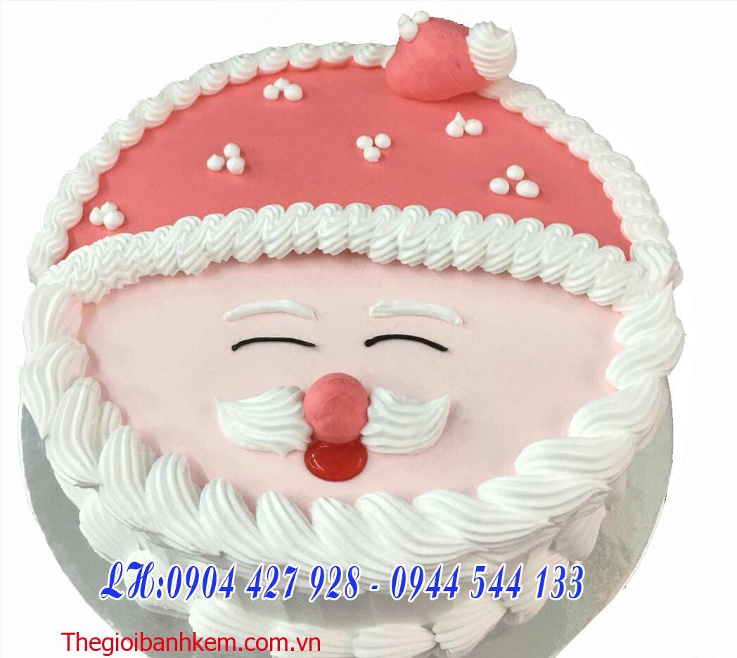 Bánh kem mặt ông già noel Mã B2121
