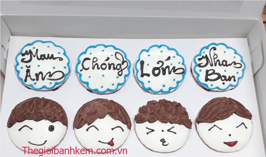 Bánh cupcake mã CC27