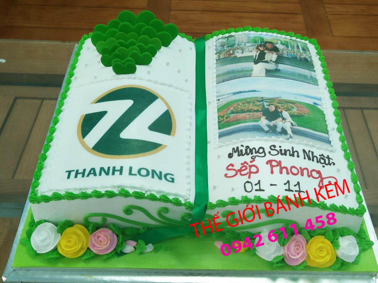 Bánh kem sinh nhật hình cuốn sách mã B5209