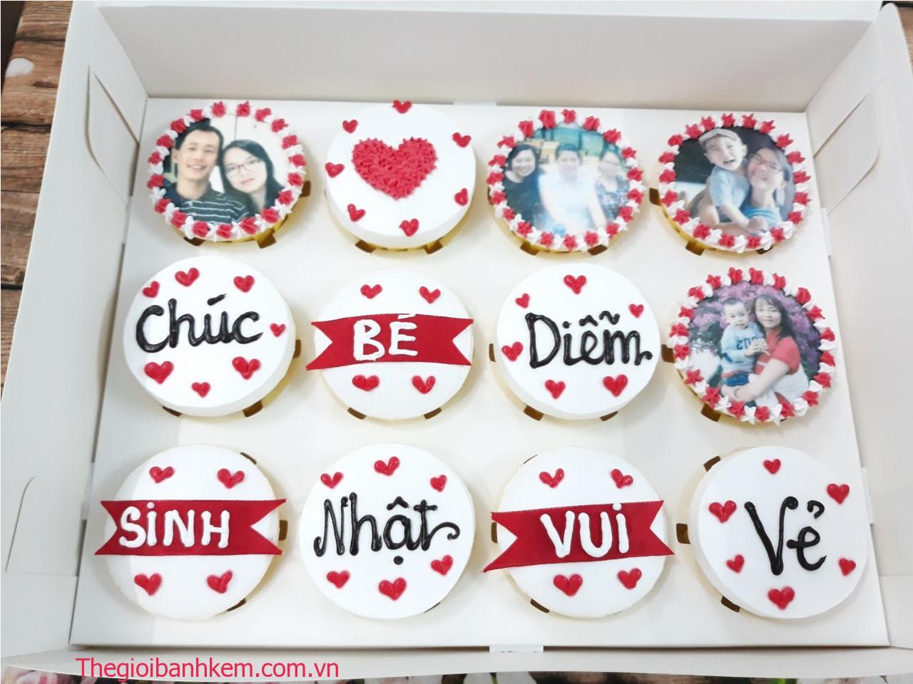 Bánh cupcake mã CC65