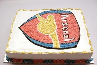 Bánh logo Arsenal mã B015