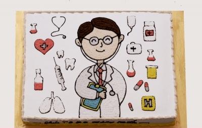 Bánh bác sỹ mã B017