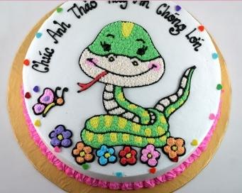 Bánh hình con rắn mã B034