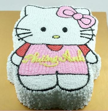 Bánh mèo Kitty mã B077