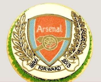 Bánh logo Arsenal mã B160