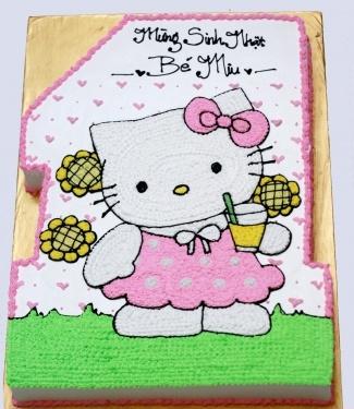 Bánh Hello Kitty mã B219