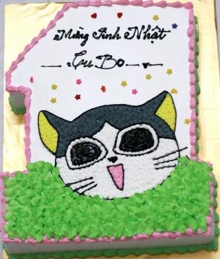 Bánh con mèo mã B217