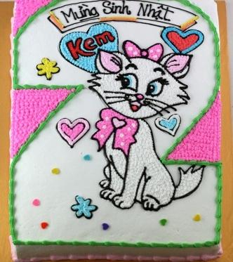 Bánh hình con mèo mã B249
