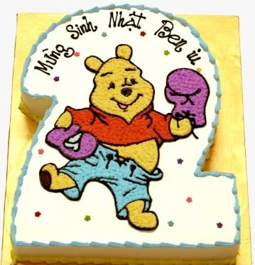 Bánh gấu Pool mã B240