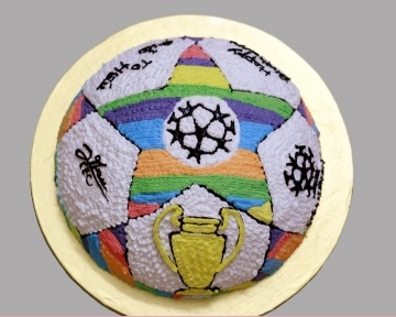 Bánh hình quả bóng mã 4706
