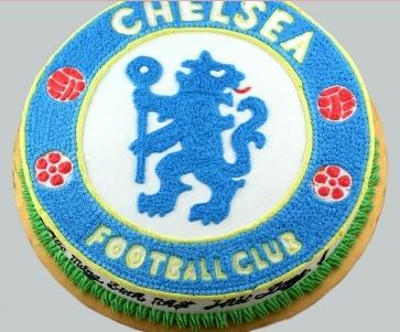 Bánh logo Chelsea mã B4710