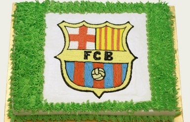 Bánh logo Barca mã B4711