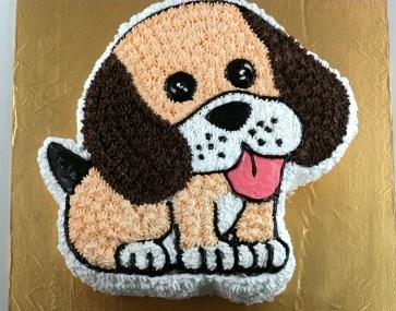 Bánh hình chó cún mã B1919