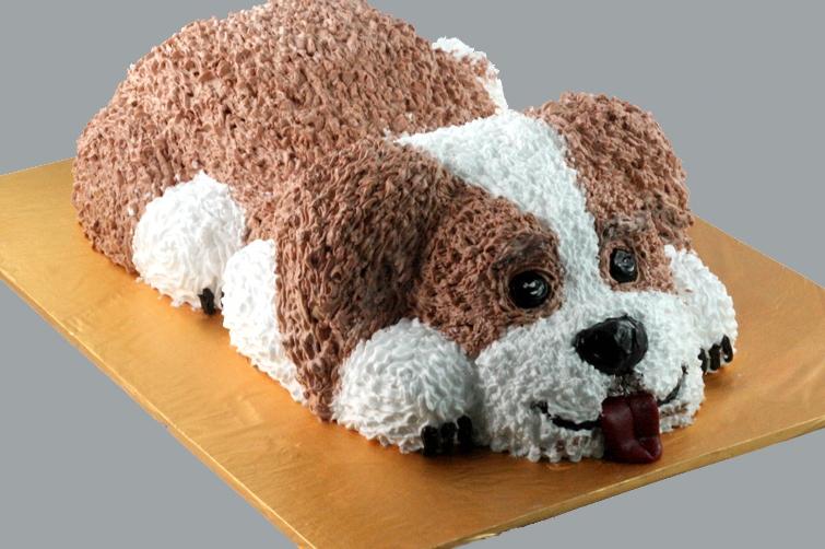Bánh hình con chó mã B1923