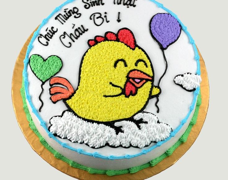 Bánh hình con gà mã B1930