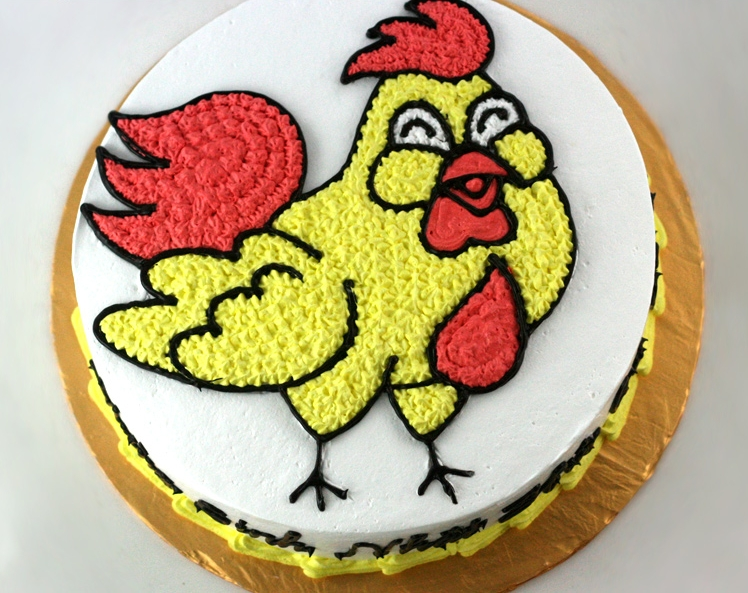Bánh hình con gà mã B1933