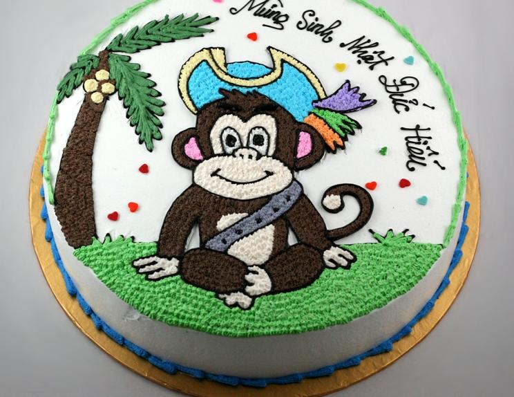 Bánh hình con khỉ mã B1945