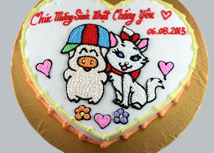Bánh heo và mèo mã B1103