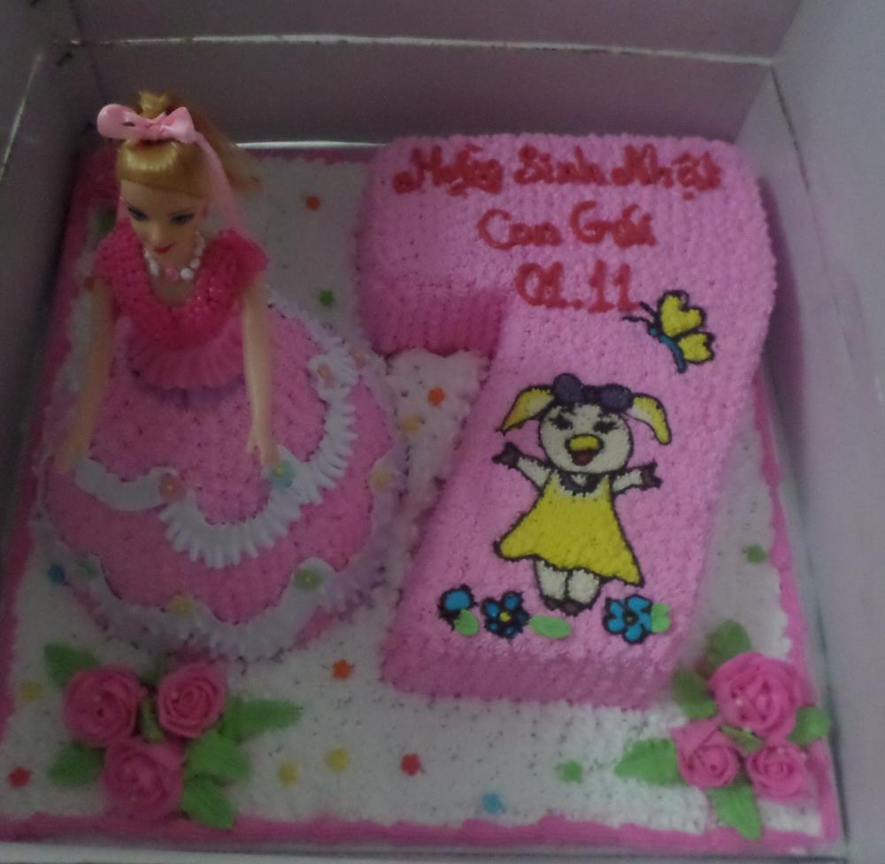Bánh sinh nhật công chúa 3D Mã B4730