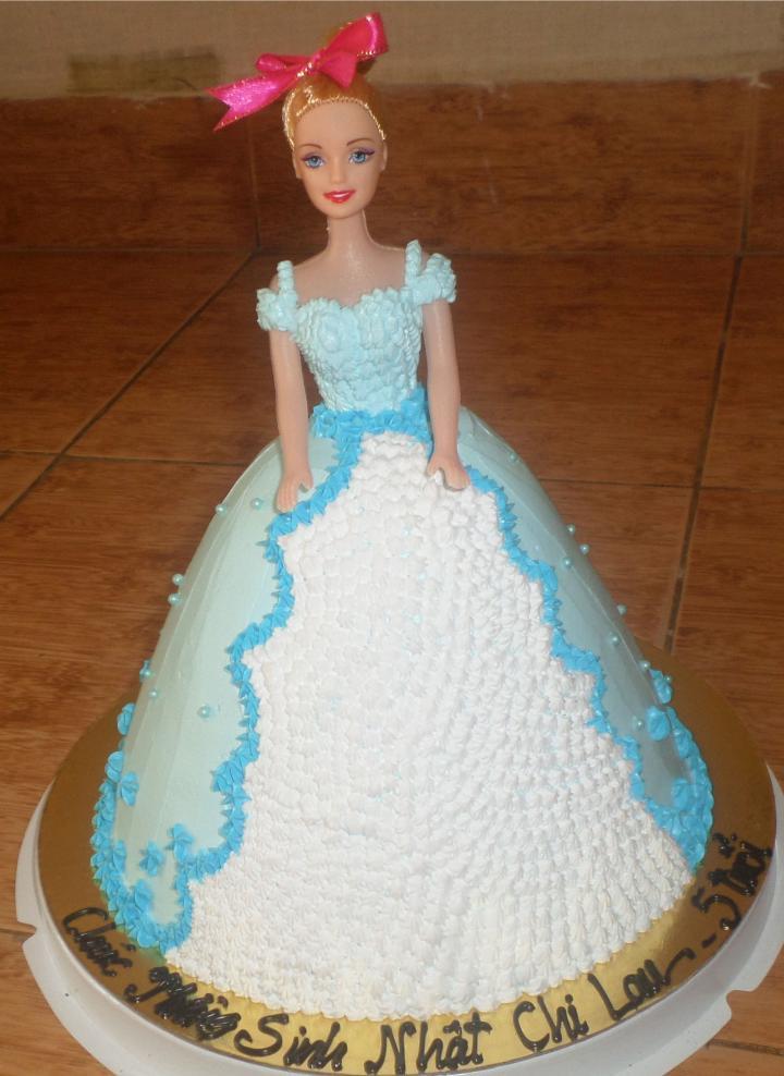 Bánh sinh nhật công chúa 3D Mã B4734