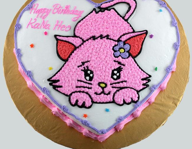 Bánh hình con mèo mã B1752