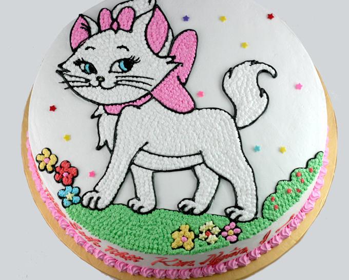 Bánh hình con mèo mã B1753