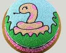 Bánh hình con rắn mã B1759