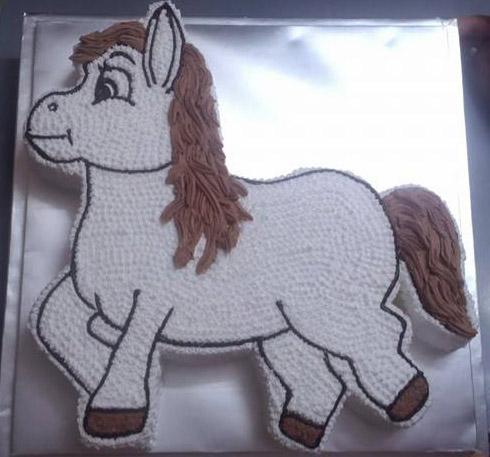 Bánh hình con ngựa mã B7381