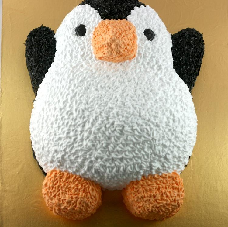Bánh hình chim cánh cụt mã B7411