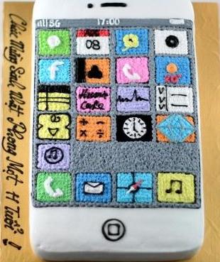 Bánh hình Iphone mã B014