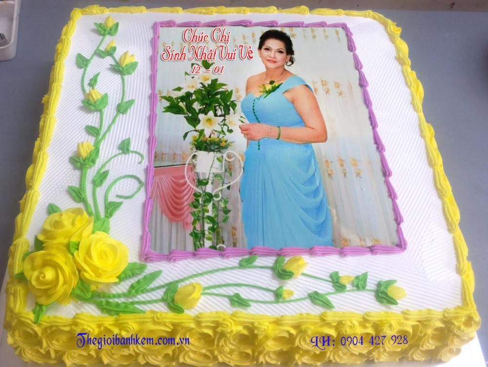 Bánh sinh nhật Mã B1960