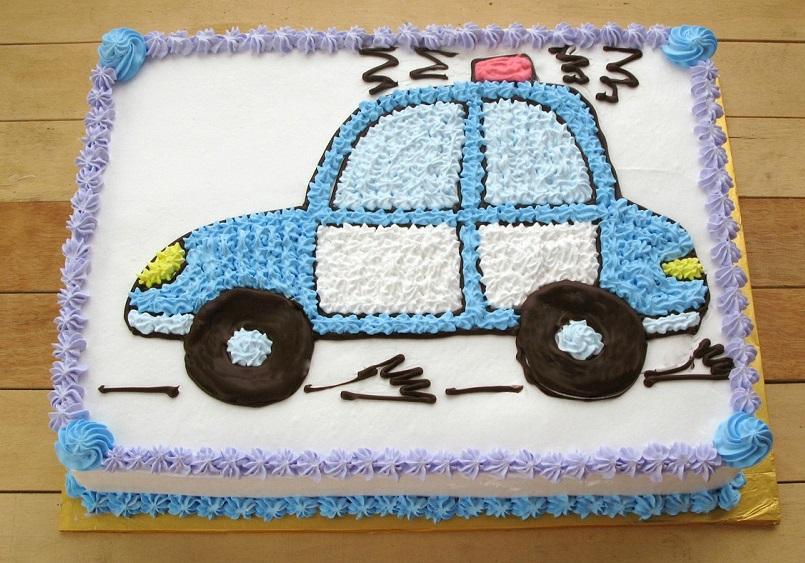 Bánh kem ô tô Mã B407