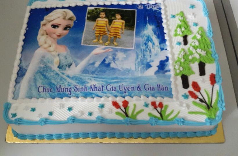 Bánh sinh nhật Elsa Mã B1881