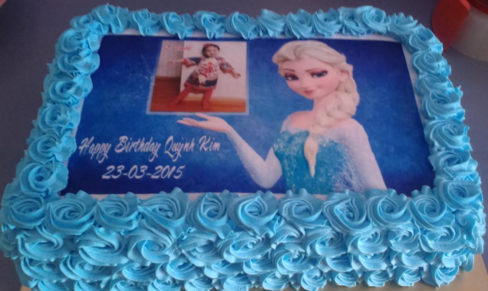 Bánh sinh nhật Elsa Mã B1885