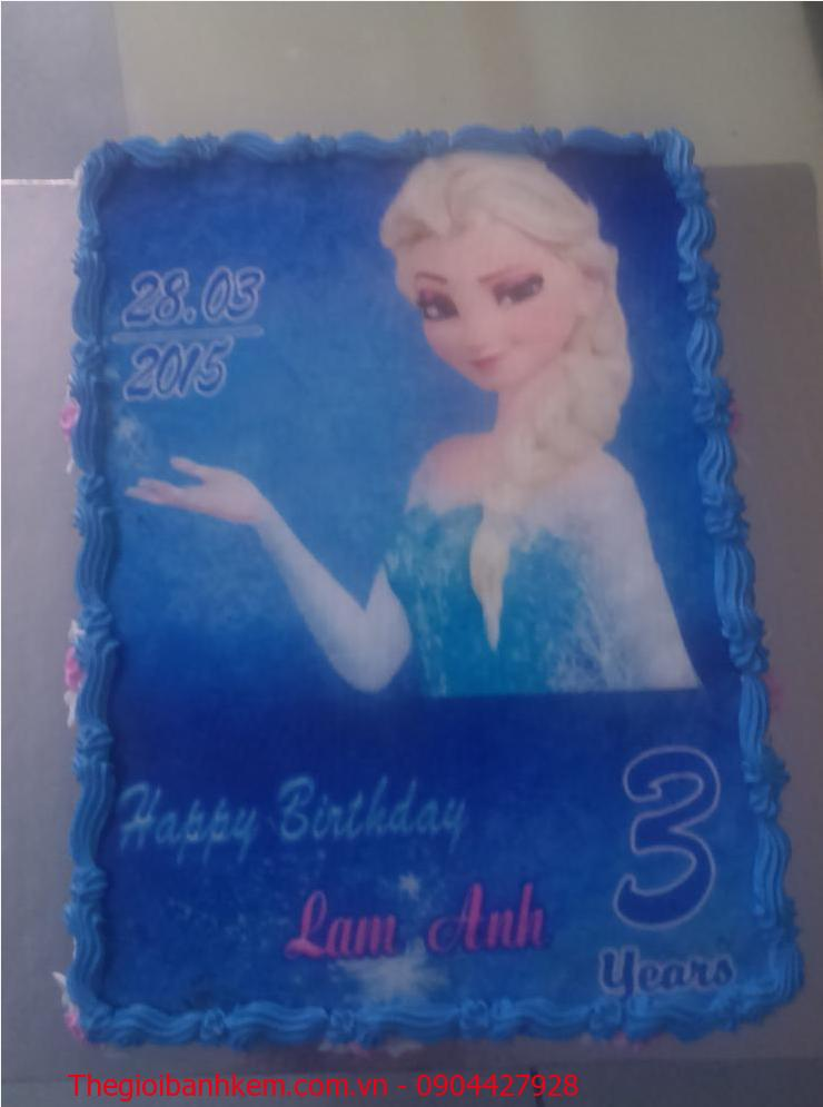 Bánh sinh nhật Elsa Mã B1886