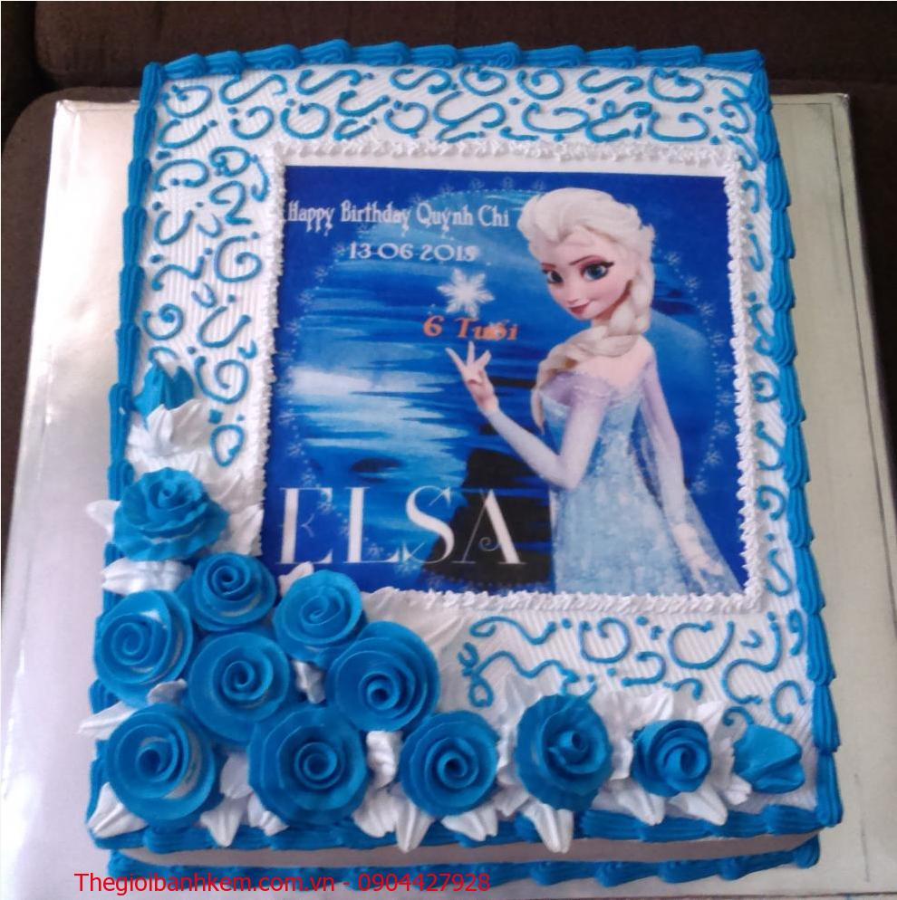 Bánh sinh nhật Elsa Mã B1888