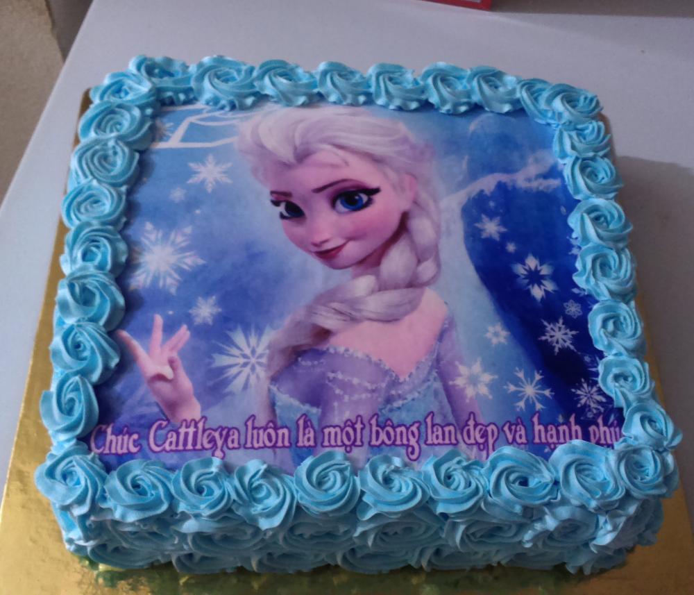 Bánh sinh nhật Elsa Mã B1889