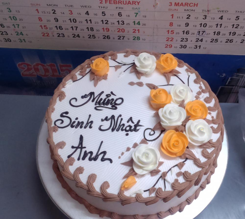 Bánh sinh nhật Mã B5451