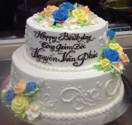 Bánh sinh nhật 2 tầng mã B2304