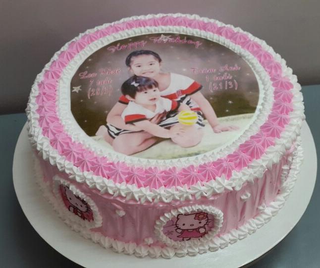 Bánh sinh nhật in ảnh Mã B1231