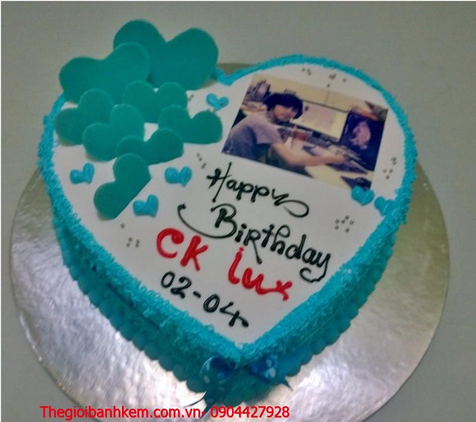Bánh sinh nhật in ảnh Mã B1242