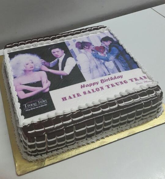Bánh sinh nhật in ảnh Mã B1304