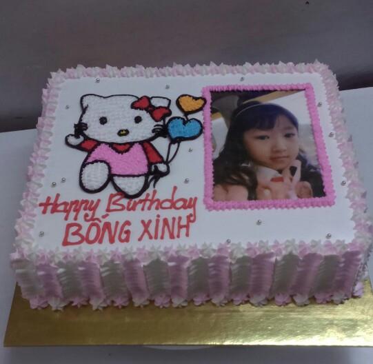 Bánh sinh nhật in ảnh Mã B1900