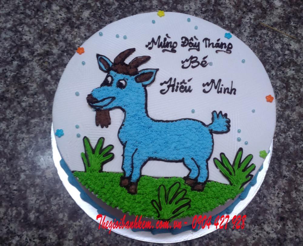 Bánh sinh nhật con dê Mã B1706
