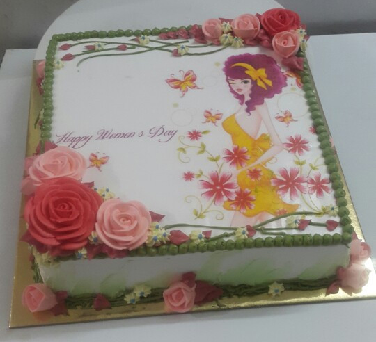 Bánh sinh nhật in ảnh Mã B1035